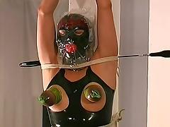 Blindfolded, BDSM, Blindfolded, Bound, Domination, Rubber