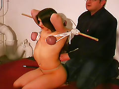 Boobs, Bondage, Boobs, Brunette, MILF, Hooters