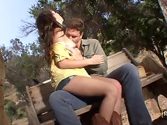 Hot Cowgirl Missy Stone Riding A Hard Cock
