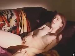 Amateur Redhead Loves To Masturbate In The Comfort Of Her Home