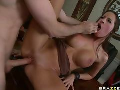 Gorgeous Brunette Kortney Kane Gets a Hardcore Rough Sex For Gambling porn tube video