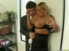 Rough Anal Sex For The Big Tittied Blonde Shyla Stylez