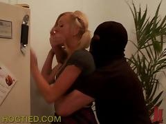 Horny Teen Blonde Gets Kidnapped and Fucked