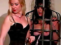 Lesbian dominatrix loves to play with sub girls tube porn video