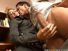 Fucking The Ass Of The Hot Librarian Adrianna Deville