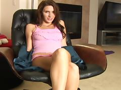 Maddie Price Sitting and Teasing
