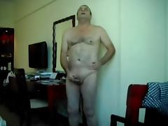 Wanking with a Toy