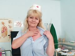 Nurse with naughty fuck hole