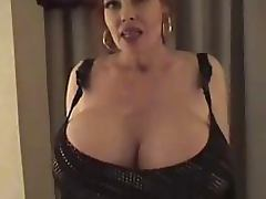 Mature With Monster Tits Fantasizes She's Being Fucked and Masturbates tube porn video