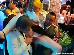 Wedding party makes good hardcore porn