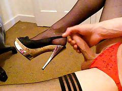 crossdresser wanking tube porn video