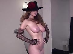 Busty Slut Shows Her Juggs