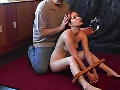 Her bondage video gets painful