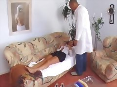 Susana De Garcia is thoroughly examined by a doctor CSp porn tube video