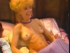 Nina Hartley Vintage Bisexual MMF tube porn video