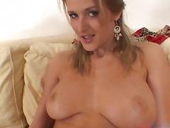 Busty blondie Jane Darling gets in a hot POV scene