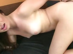 Young Brunette Show Her Big Ass And Fucked