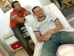 Hot Katy Suck Two Cock And Get DP