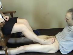 Sweet treats pedal pumping footjob tube porn video