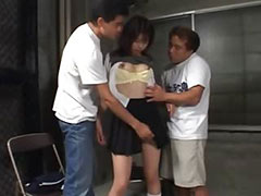 Hardcore Japanese penetrate in prison tube porn video