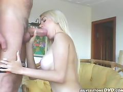 Adorable, Adorable, Big Tits, Blonde, Blowjob, Cum in Mouth