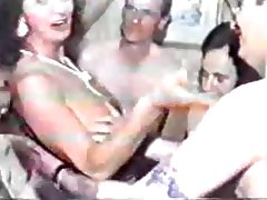 British amateur gangbang tube porn video