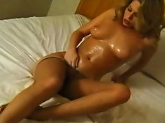 Beauty, Beauty, Blonde, Boobs, Natural, Oil