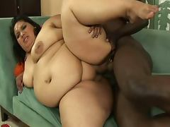 sexy ssbbw goes black tube porn video