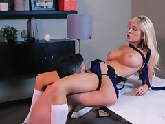 Tasha Reign laid in her ass tube porn video