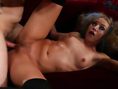 Alyssa Branch in naughty cock riding video porn tube video