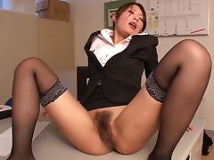 CFNM, Asian, Blowjob, CFNM, Cum in Mouth, Feet