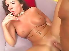 Shiny bikini girl Richelle Ryan fucked