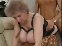 old mature Huge boobs tube porn video