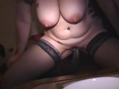 10 Inch, 10 Inch, Big Cock, Creampie, Cuckold, Housewife