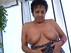 Mature German Amateur tube porn video