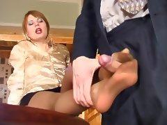 Russian Nylon tube porn video