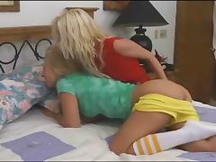 blondes lesbian anal strapon sex tube porn video