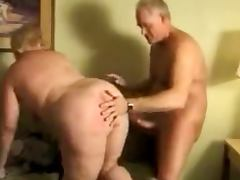 Fat BBW Granny Mature Gets Fucked On Couch tube porn video