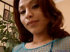Slutty Jayna Oso gets a double pleasure with two guys
