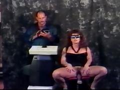 Peter North fucks sexy brunette Madison in kinky cybersex scene