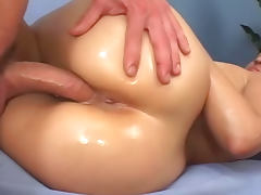 Aroused Latina pussy penetrated by big cock