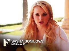 Stunning Sasha Bonilova makes hot show on a terrace