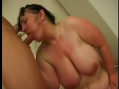 Chubby Granny Loves Cock