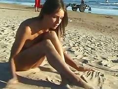 Beach, Amateur, Beach, Beauty, Cute, Nude