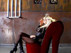 Blonde, Blonde, Bodystocking, Fetish, Heels, Lingerie