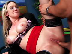 Anal porn with Abbey Brooks the curvy slut tube porn video