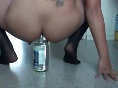 Anal Bottle porn tube video