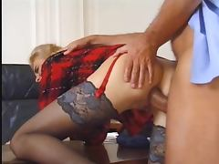 Boss, Anal, Boss, Office, Stockings