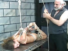 Her affinity for rope bondage is arousing