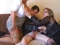 2 BBW Seduce Young Man tube porn video